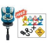 SS Original Life ISOFIX Infant Car Seat (GR.0+1) - Turquoise Blue (Combo Set)