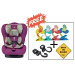 SS Original Life Infant Car Seat (GR.0+1+2) - Hot Pink (Combo Set)