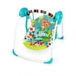 Bright Starts Kaleidoscope Safari Portable Swing - BB