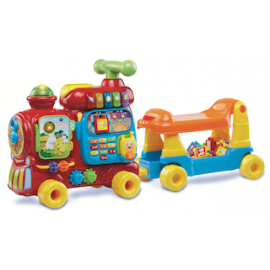 Push & Ride Alphabet Train-BB