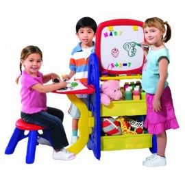 Grow N Up Crayola Ez Drawn N Store Activity Center - BB