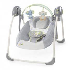 Bright Starts ING Buzzy Bloom Portable Swing