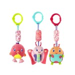Bright Starts Pretty in Pink Chime Along Friends