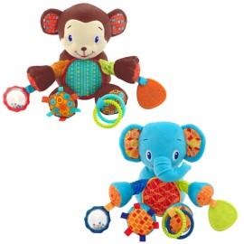 Bright Starts Bunch O Fun (Elephant / Monkey)