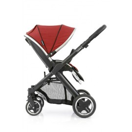 Oyster 2 Black Stroller - Tango Red FREE Little Bean Safety Fan + Munchkin Snack Pod + Oyster 2 Shell Pack + Acquassimo (2 Bottles)