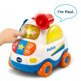 Vtech Toot Toot Drivers Smart Wheels Push & Discover Police Car